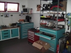 Die Werkstatt, in der die Gerätewarte der Feuerwehr einen Grossteil Ihrer Freizeit verbringen um die Gerätschaften der Feuerwehr zu warten und instandzusetzen.